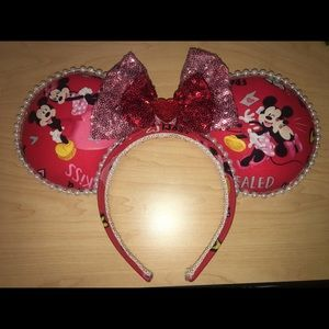 Mickey and Minnie Ear headband